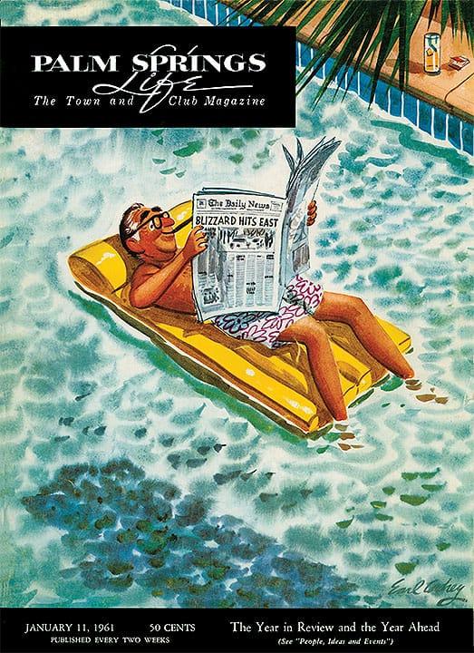 Palm Springs Life magazine - January 11 1961