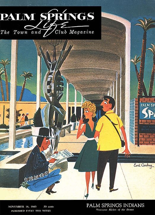 Palm Springs Life magazine - November 16 1960