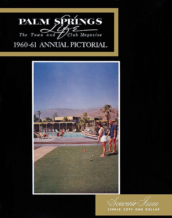 Palm Springs Life magazine - September 1960