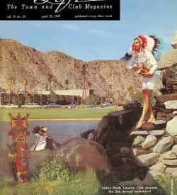 Palm Springs Life magazine - April 29 1960