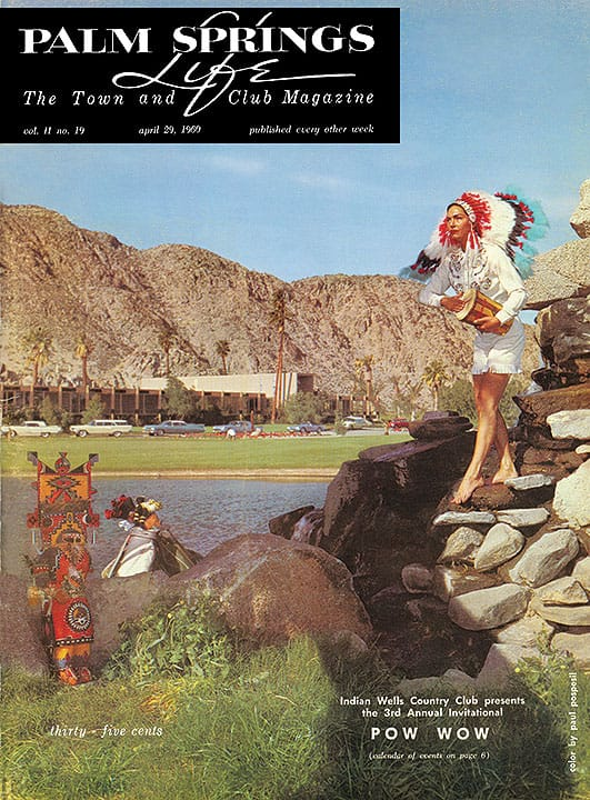 Palm Springs Life magazine - April 29 1960