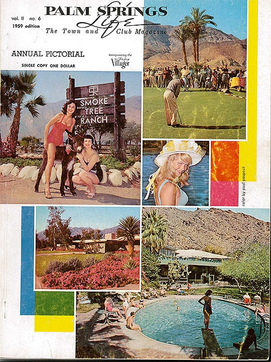 Palm Springs Life magazine - September 1959