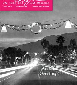 Palm Springs Life magazine - December 27 1959