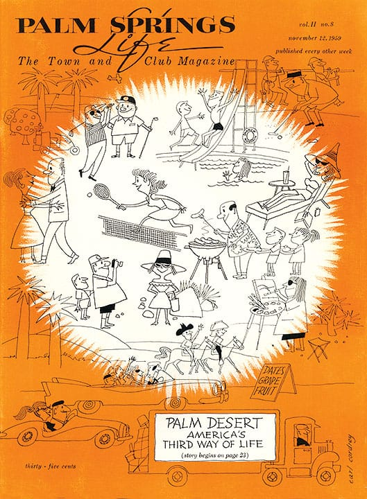 Palm Springs Life magazine - November 12 1959