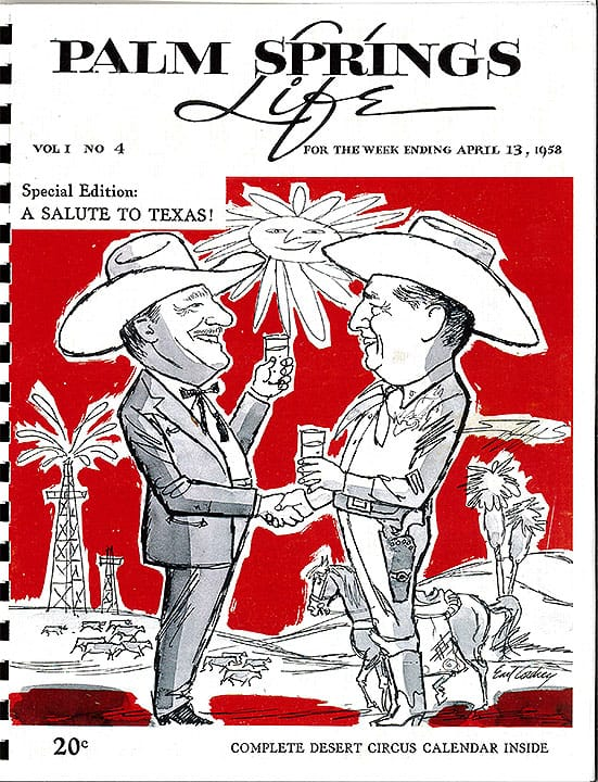 Palm Springs Life magazine - April 13 1958