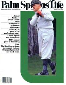 Palm Springs Life magazine - January 1982