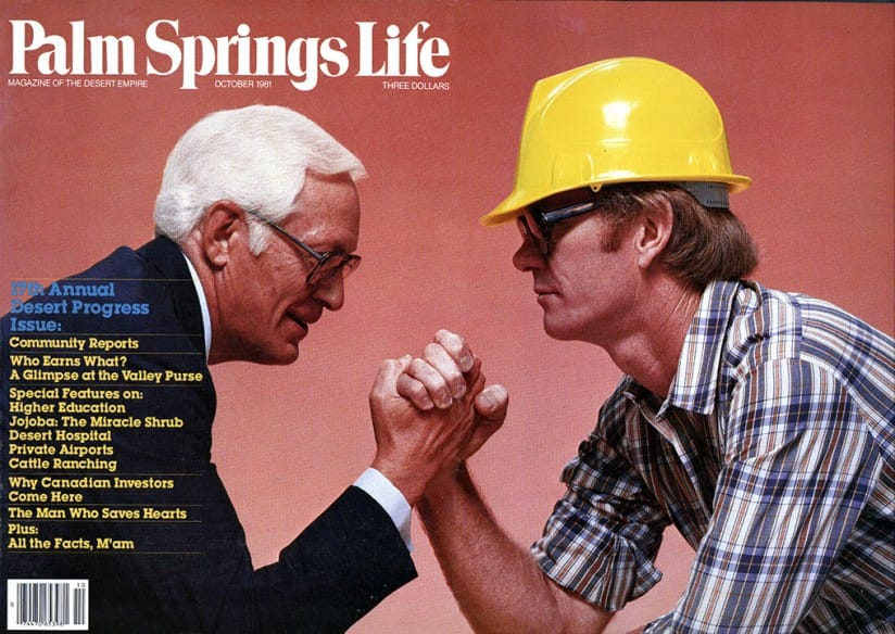 Palm Springs Life magazine - October 1981