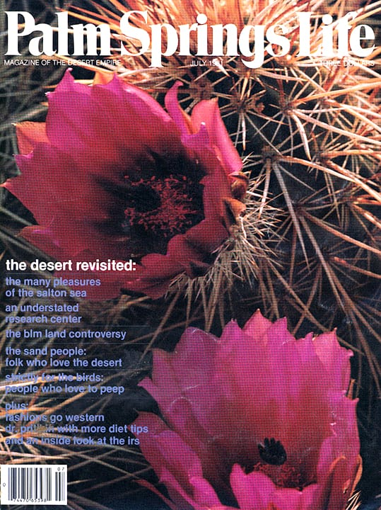 Palm Springs Life magazine - July 1981