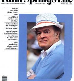 Palm Springs Life magazine - January 1981
