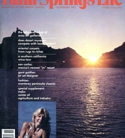 Palm Springs Life magazine - November 1980