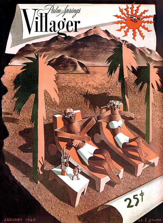 Palm Springs Villager magazine - January 1949