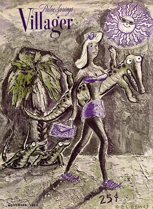 Palm Springs Villager magazine - November 1948