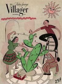 Palm Springs Villager magazine - December 1947