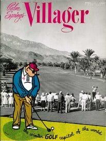 Palm Springs Villager magazine - April 1959