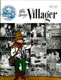 Palm Springs Villager magazine - March 1959