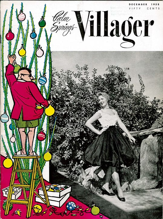 Palm Springs Villager magazine - December 1958