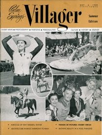Palm Springs Villager magazine - May-June-July-August 1958