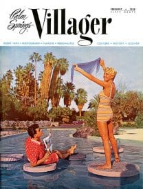 Palm Springs Villager magazine - February 1958