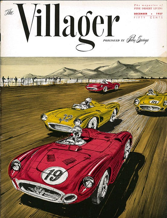 Palm Springs Villager magazine - December 1957