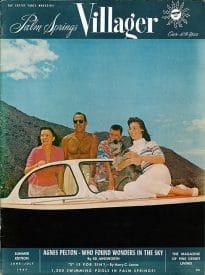 Palm Springs Villager magazine - June-July 1957