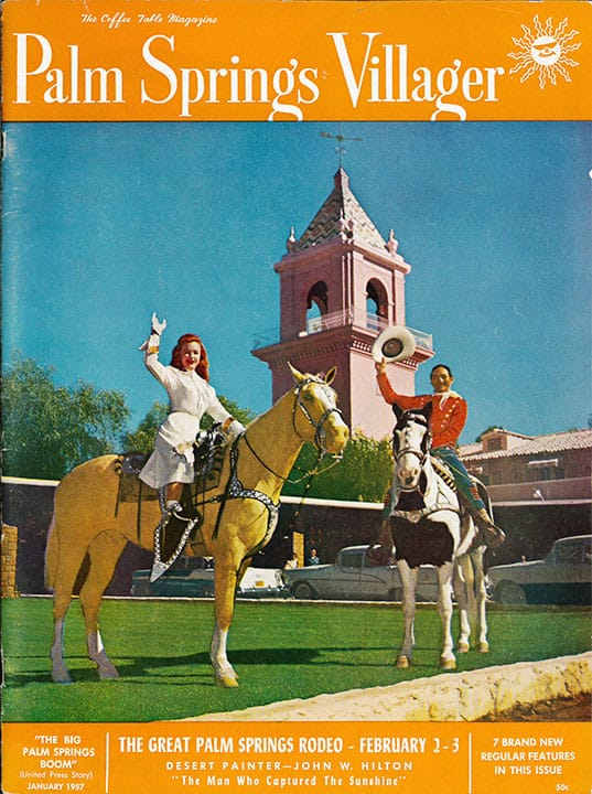 Palm Springs Villager magazine - January 1957