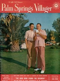 Palm Springs Villager magazine - October 1956
