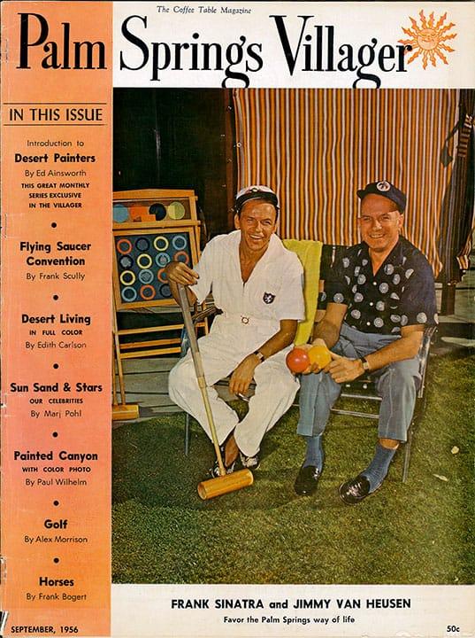 Palm Springs Villager magazine - September 1956