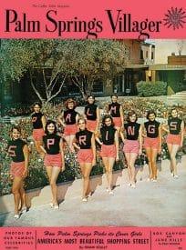 Palm Springs Villager magazine - June 1956