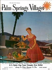Palm Springs Villager magazine - November 1955