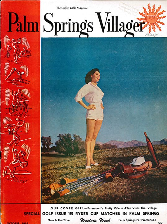 Palm Springs Villager magazine - October 1955