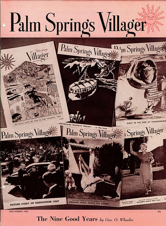 Palm Springs Villager magazine - July-August 1955