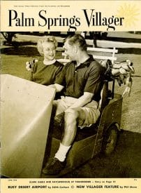 Palm Springs Villager magazine - June 1955