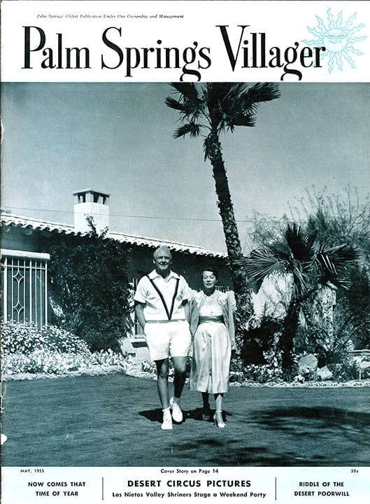 Palm Springs Villager magazine - May 1955