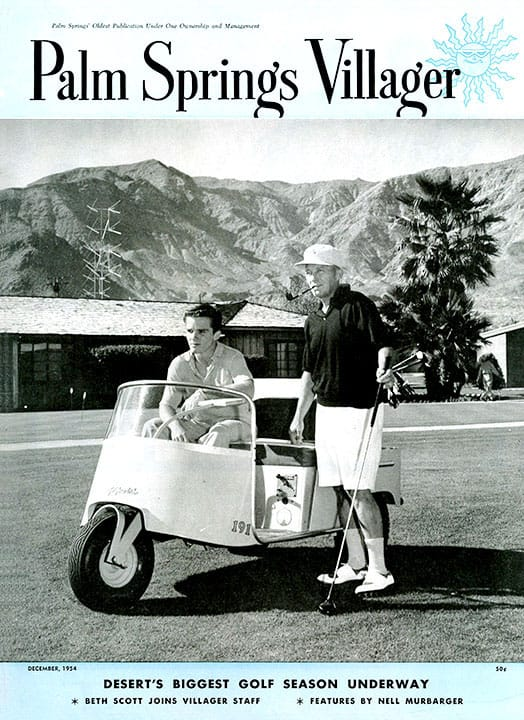 Palm Springs Villager magazine - December 1954