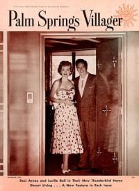 Palm Springs Villager magazine - November 1954
