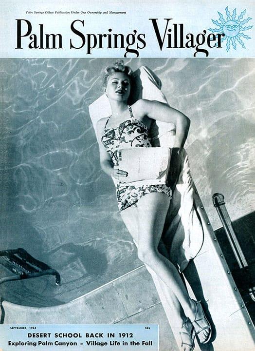 Palm Springs Villager magazine - September 1954