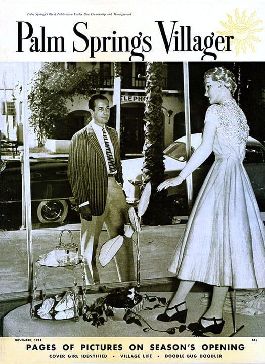 Palm Springs Villager magazine - November 1953