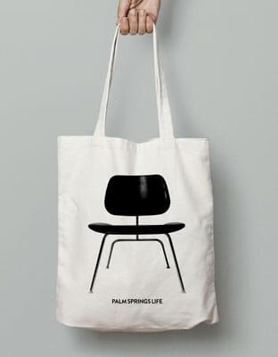 Eams Chair Canvas Tote Bag
