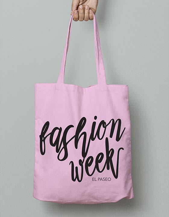 Palm Springs Life Fashion Week Canvas Tote Bag
