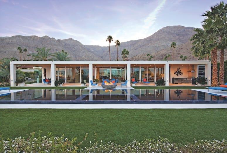 Mid Century Modern Pool Design