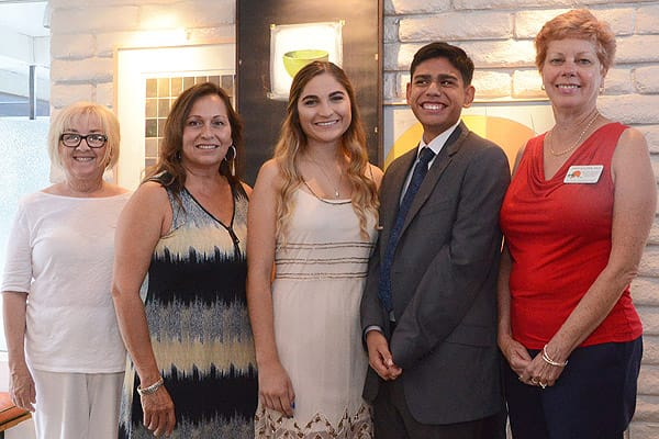 Local High School Students Receive Scholarships from Palm Springs Modern Committee, June 9, 2016