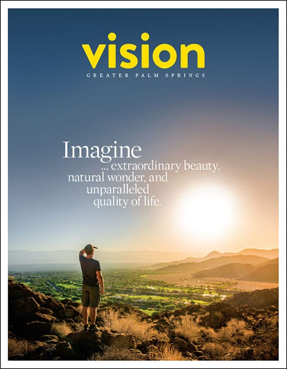 Vision Greater Palm Springs 2016 cover