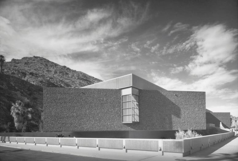 Brutalist architecture lives in Greater Palm Springs