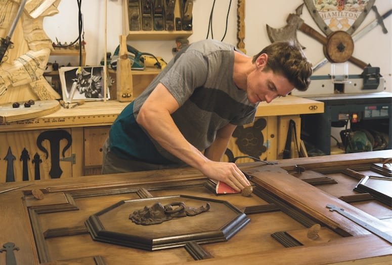 Cory Hamilton creates hair-raising art