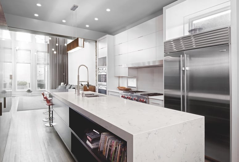New designs spur creative ideas for kitchen countertops bathroom vanities breakfast bar islands or accent walls. & Cambria has 7 new looks for luxe surfaces