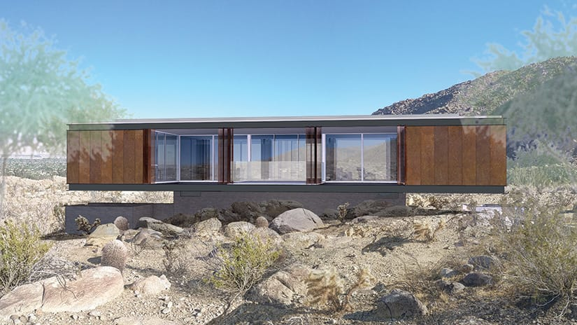 Al Beadle - Chino Canyon Project Rendering #1