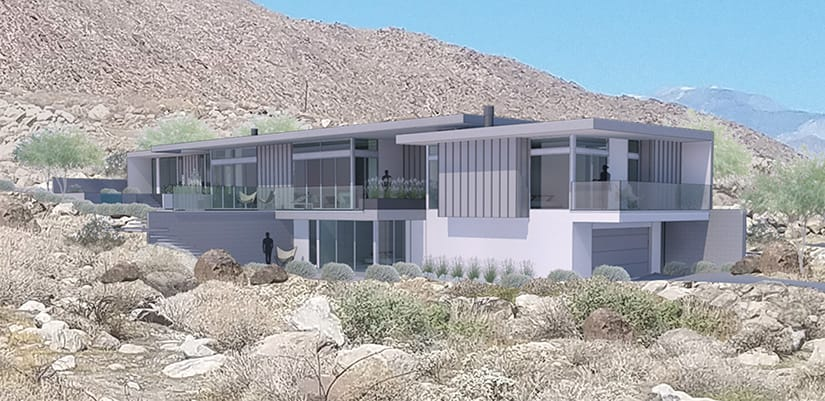 Lance O'Donnell - Chino Canyon Project Rendering #1