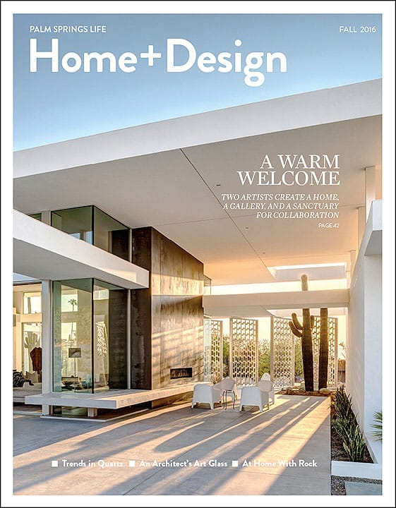 Palm Springs Life\'s Home & Design Magazine