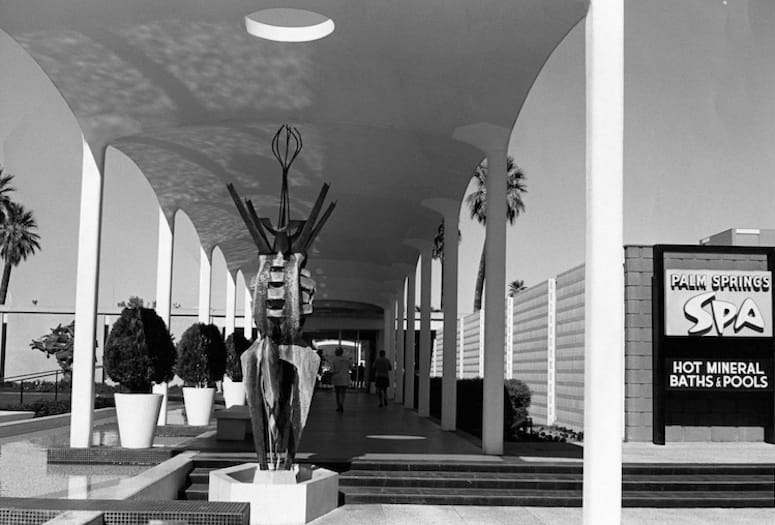 Agua Caliente Spa and Hotel Built in 1963