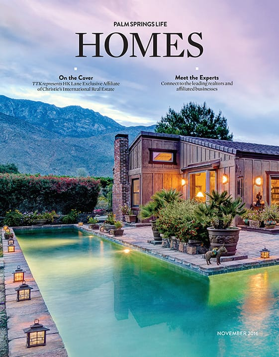 Palm Springs Life HOMES November 2016